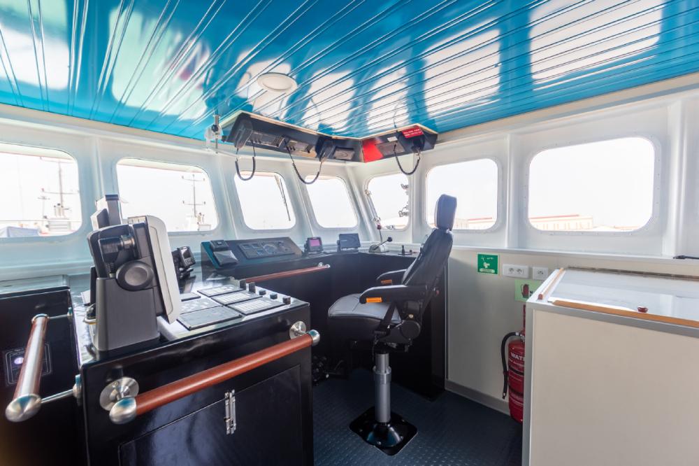 wheelhouse french boat new caledonia