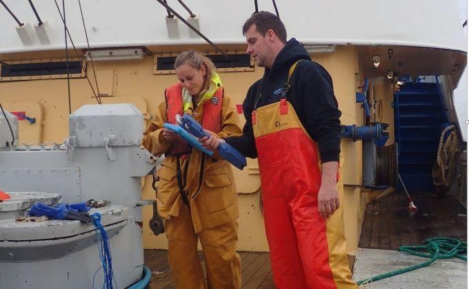UK fishing industry data