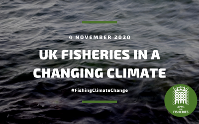 Fisheries APPG discusses climate change and the UK Fishing Sector