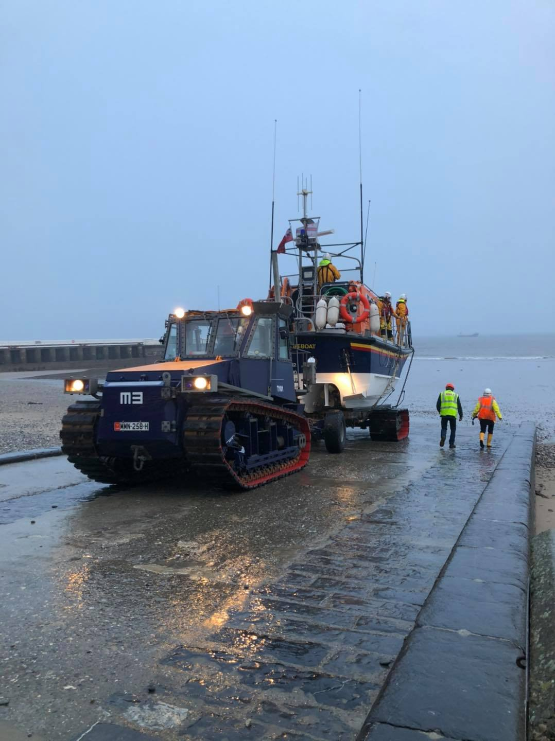 Ramsay RNLI lifeboat Ruby Clery