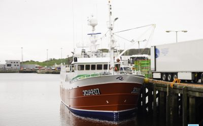 The fisheries proposal made to the UK last Friday by the EU Chief Michel Barnier came as a shock to everyone in the Irish Fishing Industry. Spanish boat in Killybegs harbour