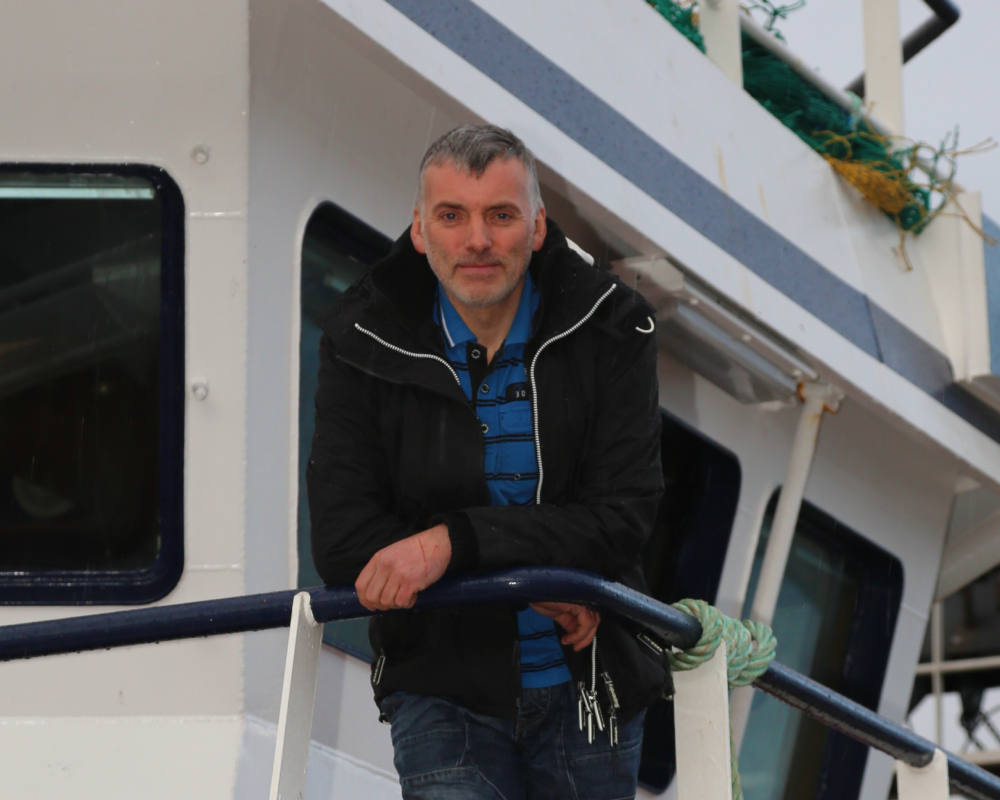 James Anderson, skipper of theAlison Kay, is the new Chair of the Shetland Fishermen's Association