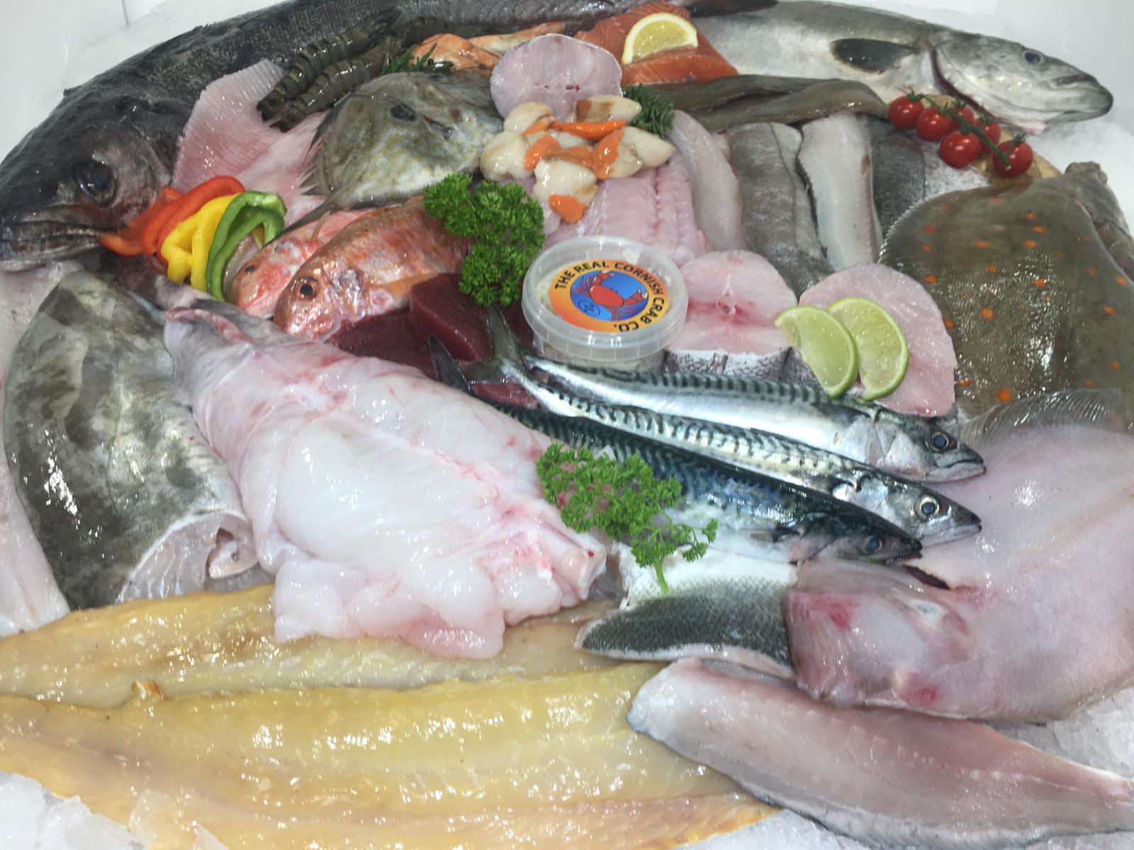 seafood cornwall #fishtoyourdoor