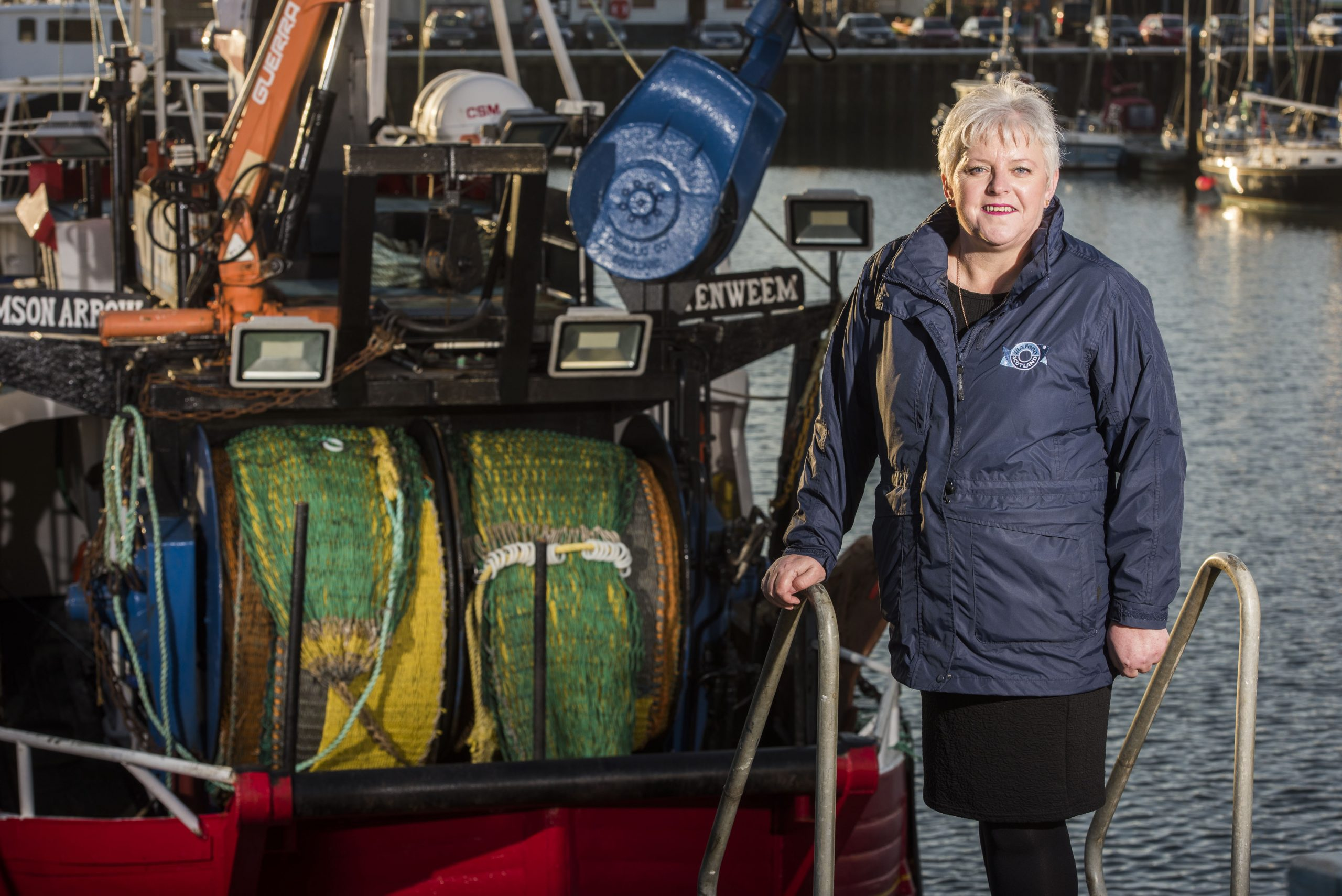 Seafood Scotland Chief Executive, Donna Fordyce has responded to the current crisis facing Scottish seafood exporters due to Brexit disruption