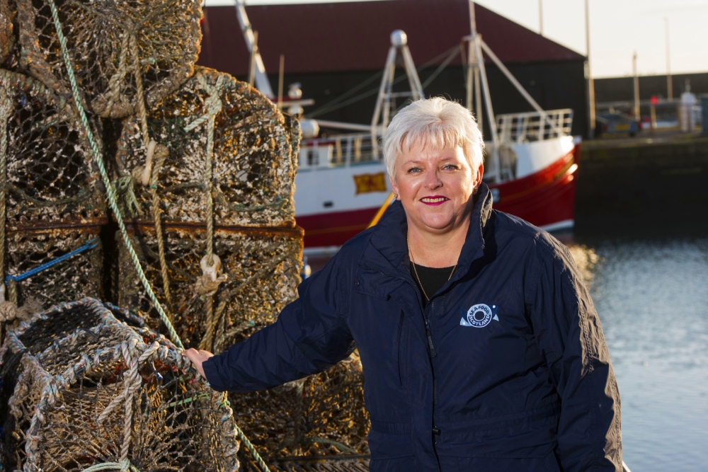Donna Fordyce of Seafood Scotland who has released an update on the UK seafood crisis