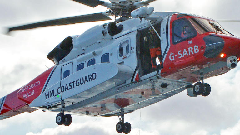 HM Coastguard has announced they are coordinating a search which off the Welsh coast for an overdue fishing vessel with three people on board
