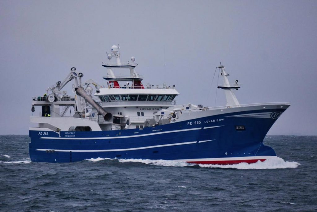 The study has found that Scottish Pelagic Fisheries produces a low carbon footprint