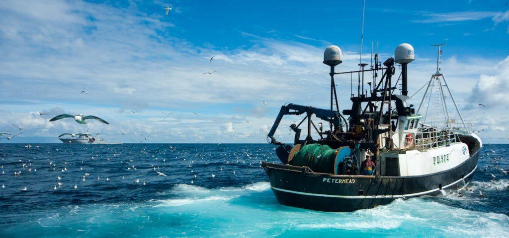 British Prime Minister Boris Johnson promises £100m fund for UK fisheries