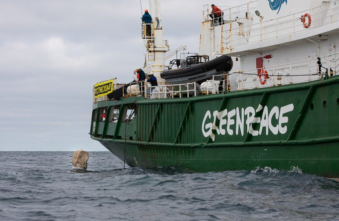 The MMO have launched an investigation into the apparent dumping of boulders by Greenpeace onto the seabed at the Dogger Bank SAC