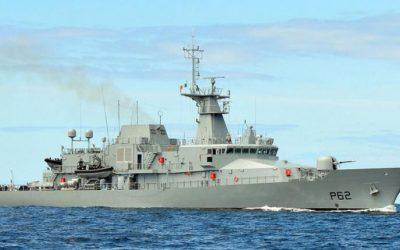 LÉ JAMES JOYCE detains Belgian-registered fishing vessel