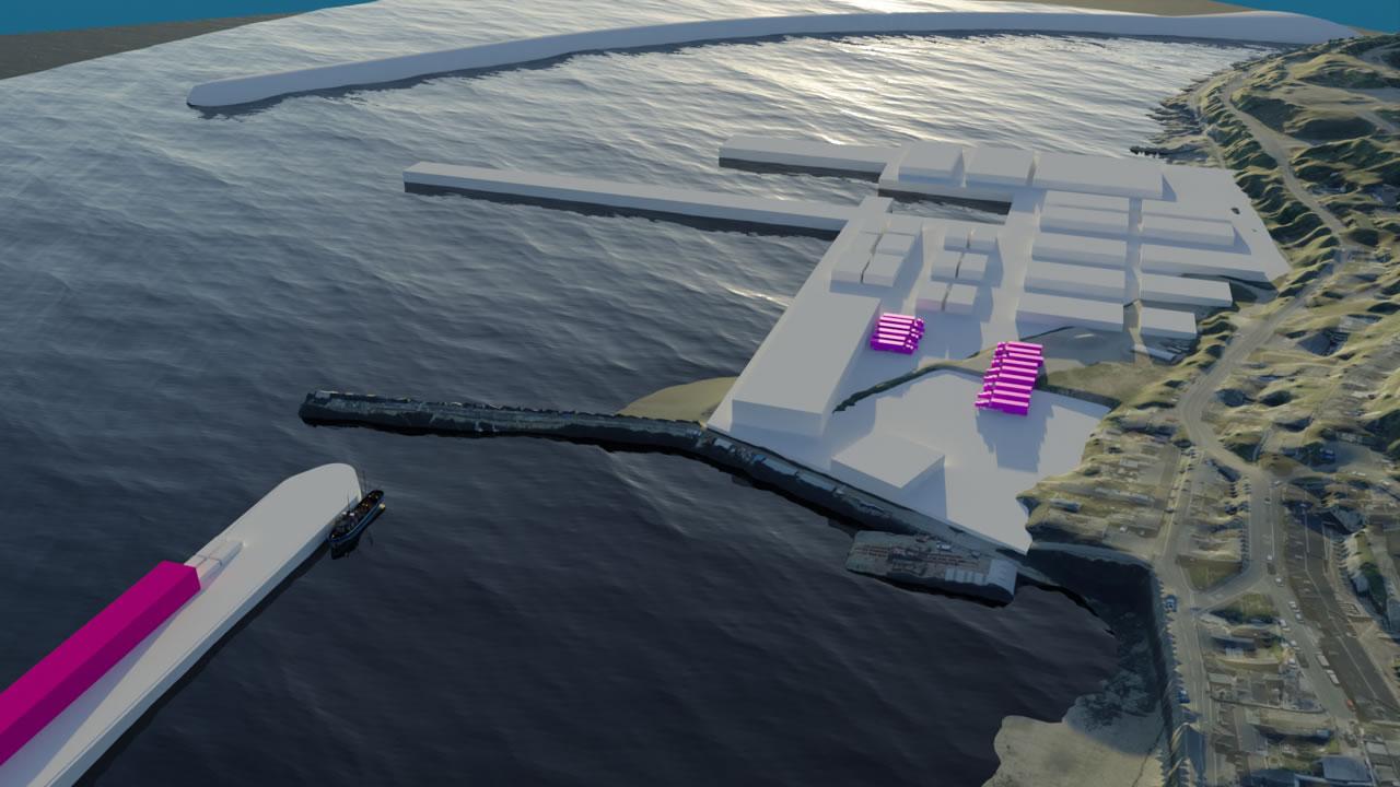 newlyn harbour development plans
