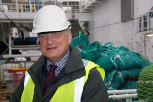 UK Fisheries' Sir Barney White-Spunner claims the fisheries agreement has left the UK fishing industry feeling hurt and let down