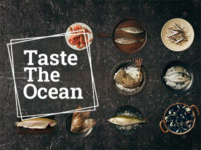 'Taste the Ocean' the sustainable seafood consumption campaigh from the European Commission