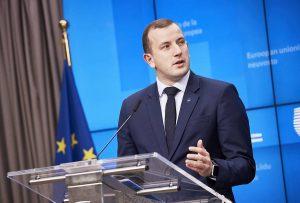 EU Commissioner Virginijus Sinkevičius press statement folllowing AGRIFISH Council
