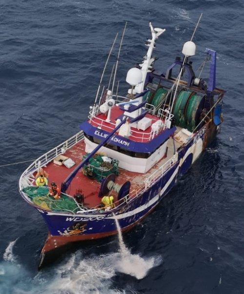 stricken trawler south-west castletownbere
