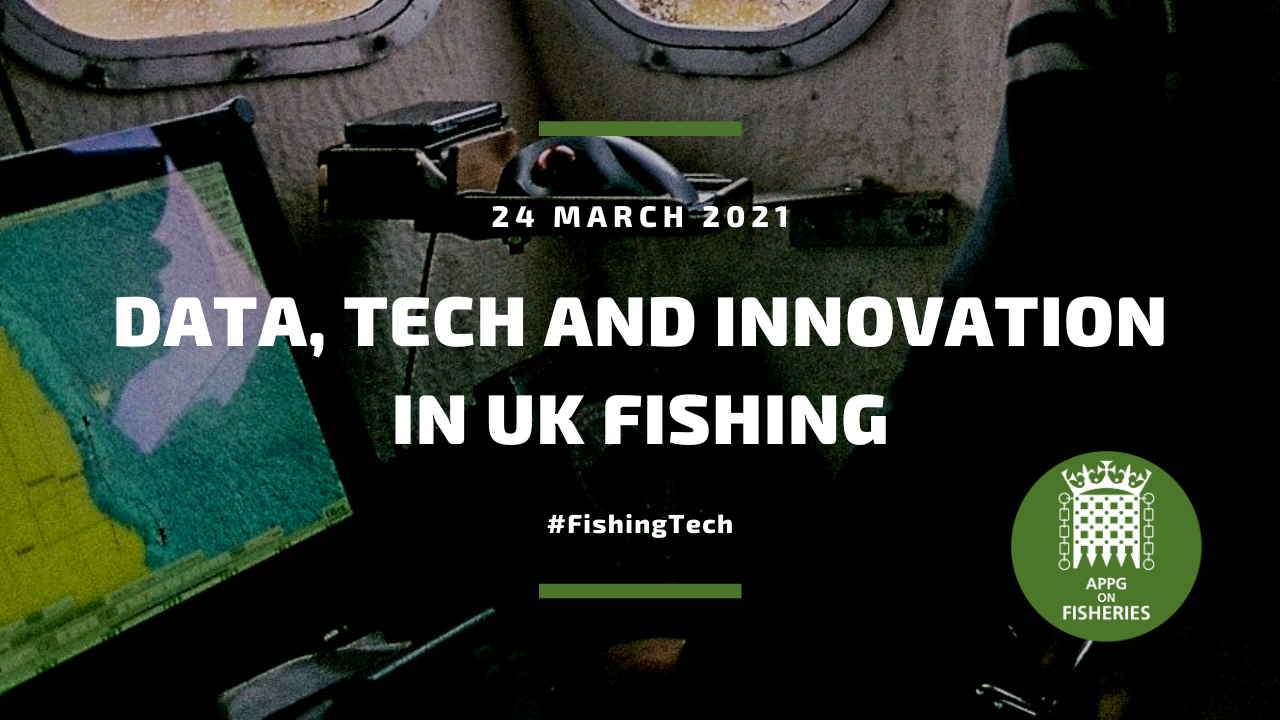 The APPG on Fisheries heard how data and tech are improving fishing