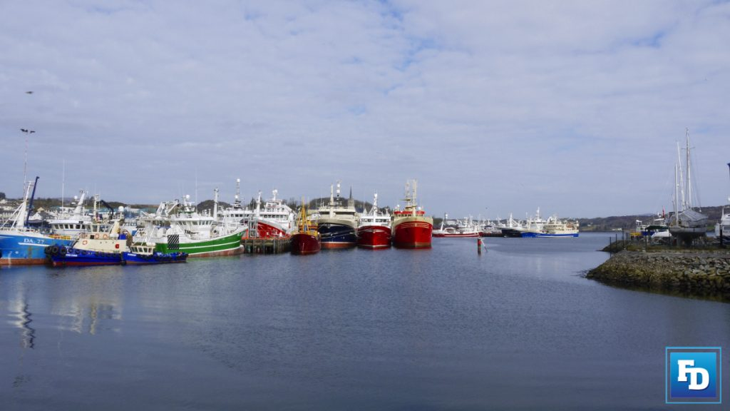 killybegs harbour donegal ireland
