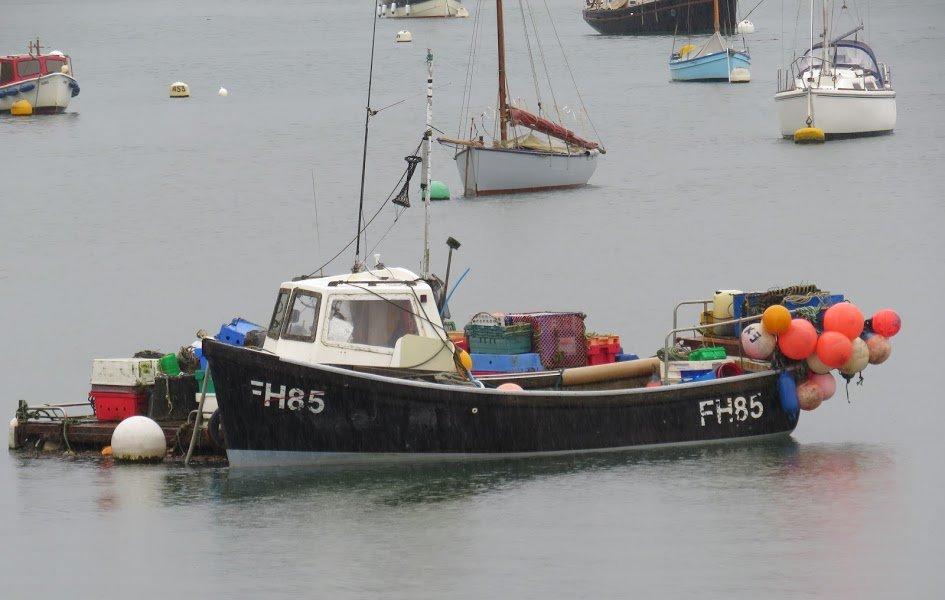 A Truro skipper has been fined for operating an unregistered fishing vessel after pleading guilty