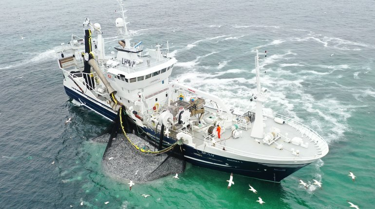 The Ministry of Trade and Industry in Norway has decided to send for consultation on the internal sales of purse-seine fishing vessels