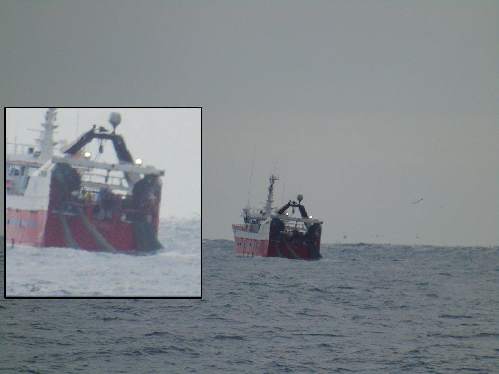 Danish fishing boats accused of flauting Scottish multi-rig regulations