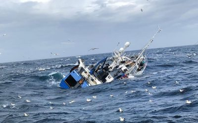 MAIB releases update on sinking of the fishing vessel Ocean Quest
