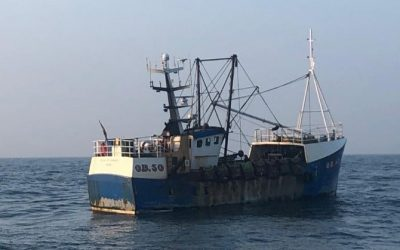 Record Fines Imposed for Inshore Scallop Dredging Offences