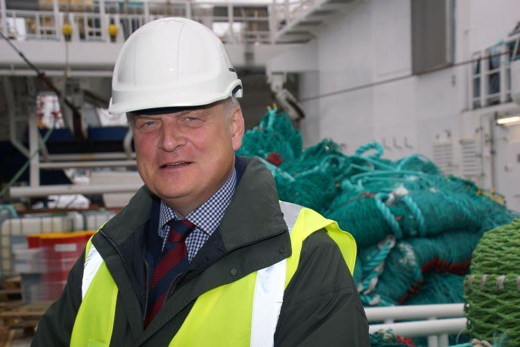 Sir Barney White-Spunner Chair of the UK Fisheries Advisory Board