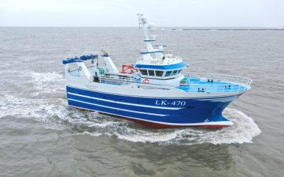 Vestværftet delivers on new build Courageous LK-470 for Shetland Islands