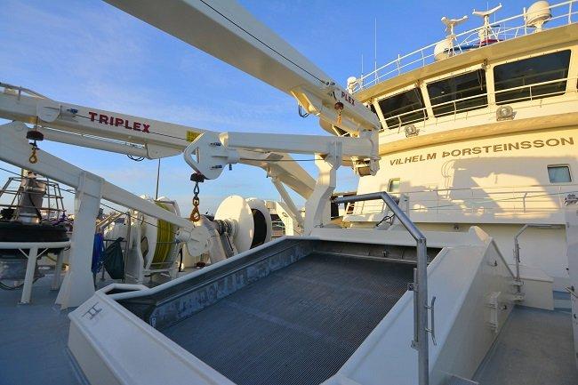 icleandic pelagic trawler