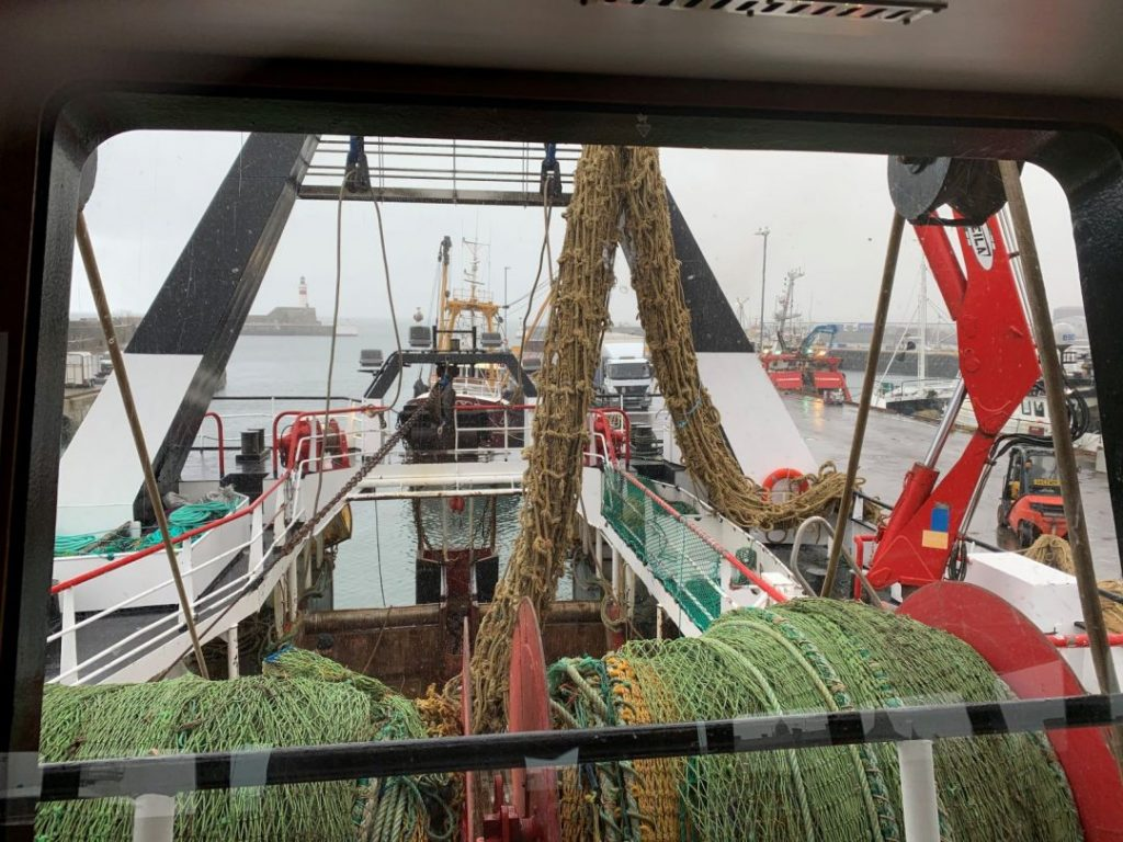 Last week, the Scottish fishing vessel Beryl BF 440 was fishing in the North-East Atlantic when they hit a snag.
