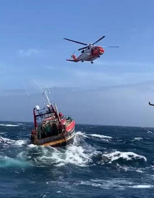 Courtmacsherry RNLI called out to fishing vessel in difficulties
