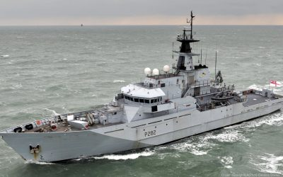 Tensions high as UK send Navy boats to French protests at Jersey Island