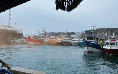 Jersey fishing fleet could collapse as Normandy closes ports to landings