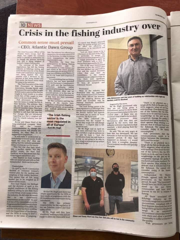 The battle for the Irish fishing industry continues, writes Cormac Burk of the IFSA
