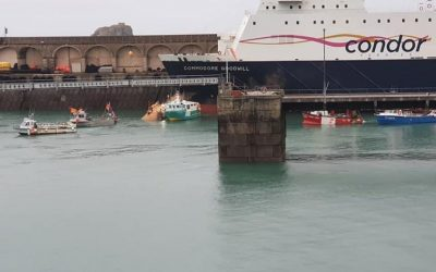 French fishers return home from Jersey as talks end in deadlock