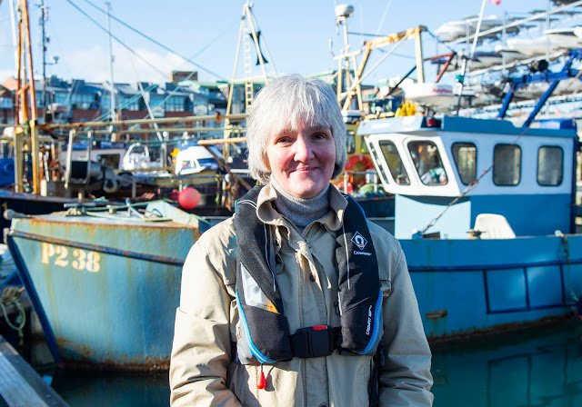 Julie Carlton, head of seafarer safety and health at UK maritime services