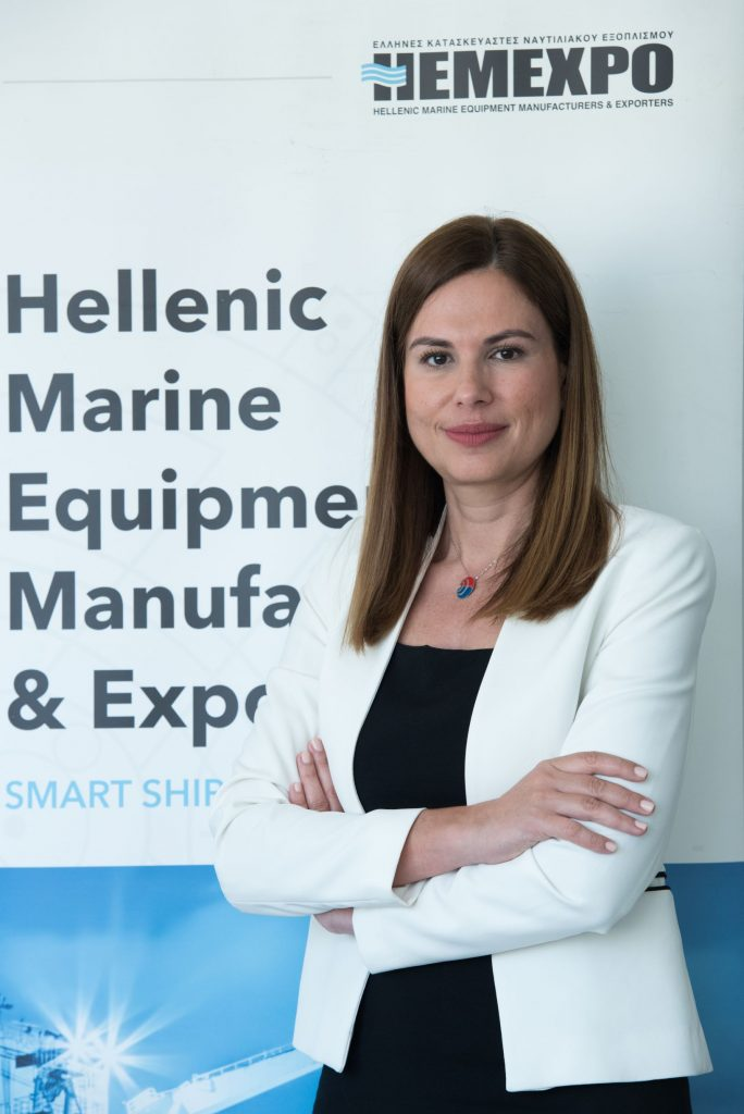 Helen Polychronpoulou, President HEMEXPO and Vice-Chair SEA Europe