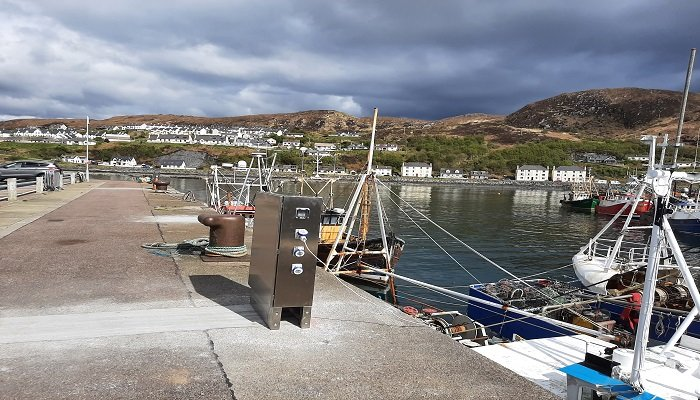 Mallaig Harbour Authority received £207,410 for the installation of shore power