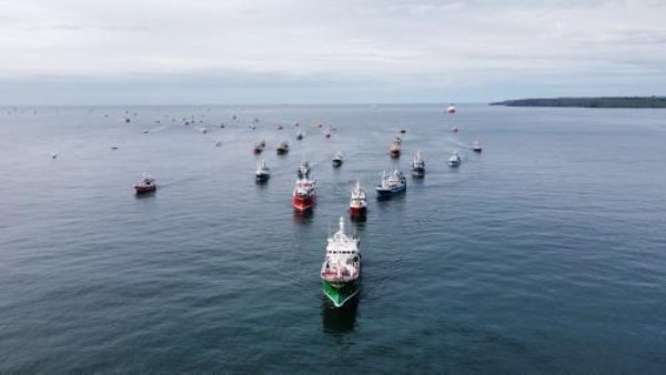 The Irish fishing industry will protest in Dublin Port on Wednesday 23 June 2021 for equal rights under the Common Fisheries Policy