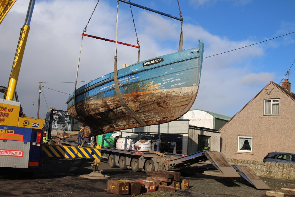 The link to the page is https://www.crowdfunder.co.uk/manx-beauty-rebuild
