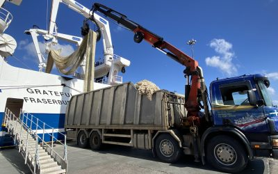 Recycling of pelagic nets supports charity's local and international activities