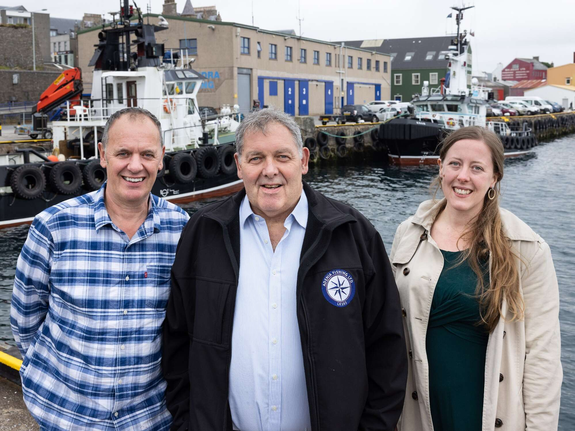 George Anderson has been appointed as Chairman and John Henderson has been reappointed as Deputy Chairman of Lerwick Harbour Authority