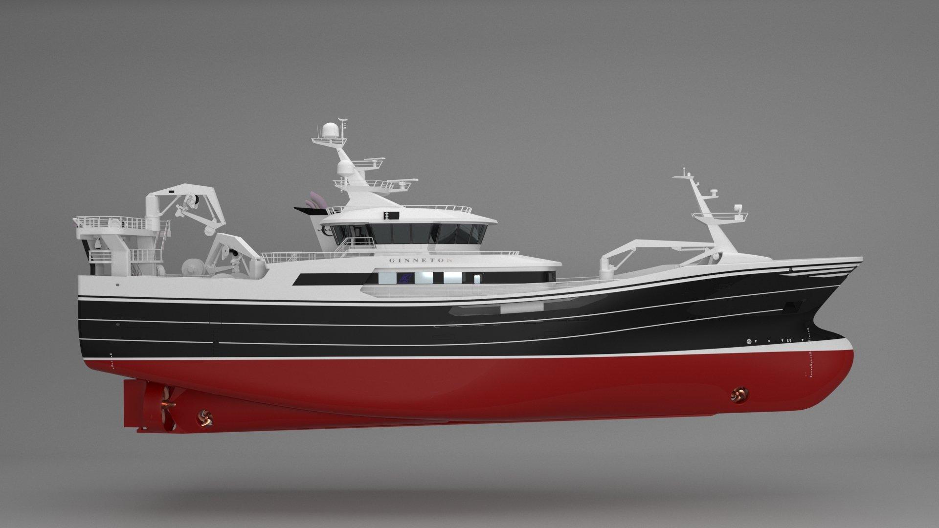 ginneton trawler Karstensens Shipyard