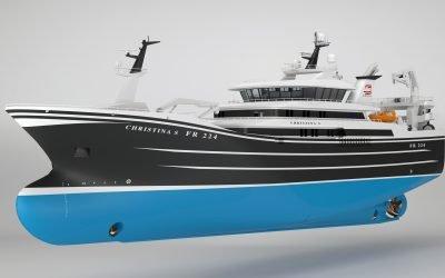Karstensens to build new pelagic trawler for Christina S Fishing Company