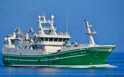 Karstensens Shipyard delivers new trawler ANTARCTIC for McHugh family
