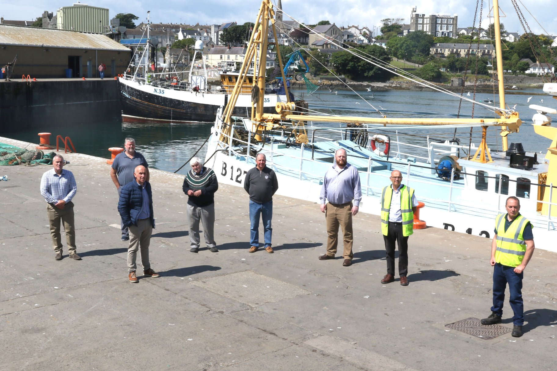DAERA Official meet with Ardglass Harbour Developments Group and key agencies over possible £40m infrastructural improvement plan