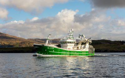 ELLA G.233 new trawler for Atlantic Dawn Group Killybegs