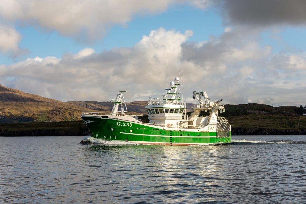 ella g.233 killbegs trawler