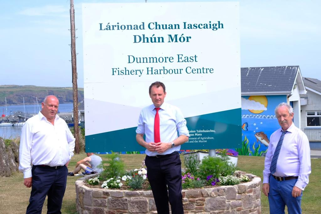 Minister for the Marine, Charlie McConalogue has visited Howth, Kilmore Quay, Dunmore East, and Killybegs so far in his fishing port visits
