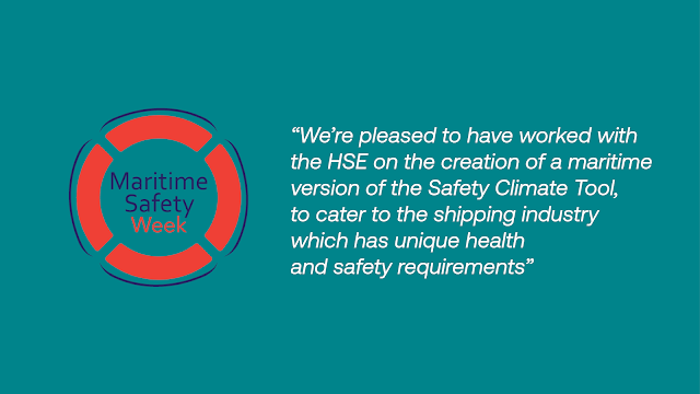 The MCA has collaborates with the HSE to create a tool to improve health and safety attitudes at sea